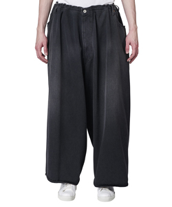 MARIONETTE SILK DENIM PANTS
