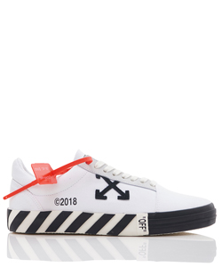 VULCANISED STRIPED LOW TOP