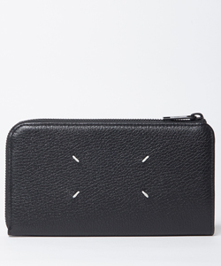 LEATHER ZIP LONG WALLET