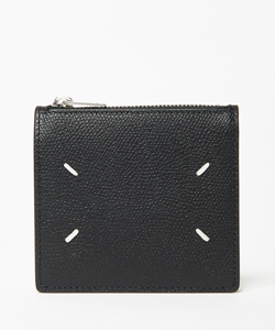 FOLDED ZIP WALLET