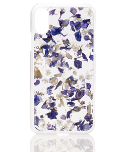 ACRYLIC FLOWER CASE FOR iPhoneXS
