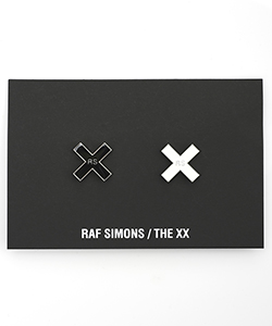 THE XX PROJECT SET OF 2 PINS