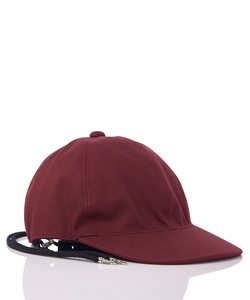 BACK LACE UP COTTON CAP