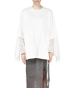 VROU LACE SLEEVE TOP