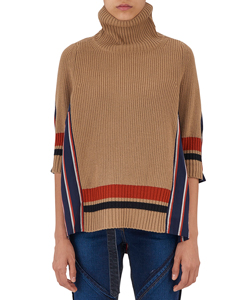 MULTI COLORED STRIPE SHIRTING KNIT