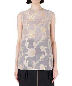 IRIS CUT JACQUARD TOPS