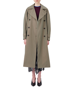 FLARE TRENCH COAT