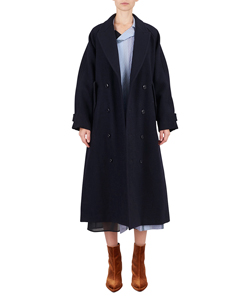 MELTON DOUBLE COAT