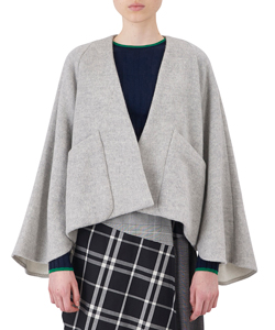 SHORT CAPE JACKET