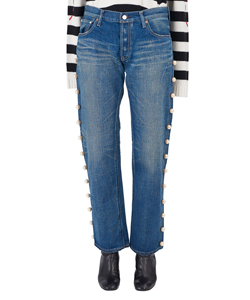 SIDE PEARL JEANS