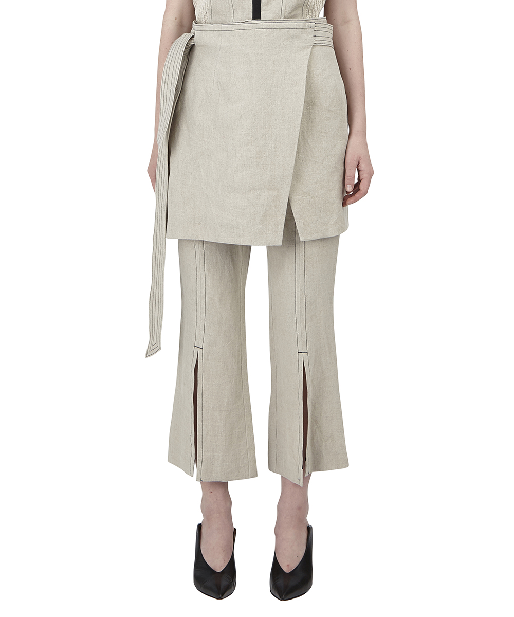 WRAP APRON PANTS