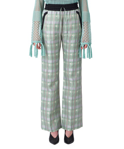 KASURI PLAID PANTS