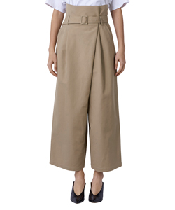 TRENCH WIDE TROUSERS