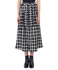 HELGA WAIST RIBBON P SKIRT