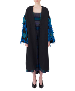 FUR LILY JAQUARD DRESS
