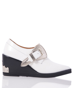 WEDGE HEEL MONK STRAP