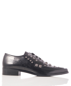 STUDS LACE UP SHOES