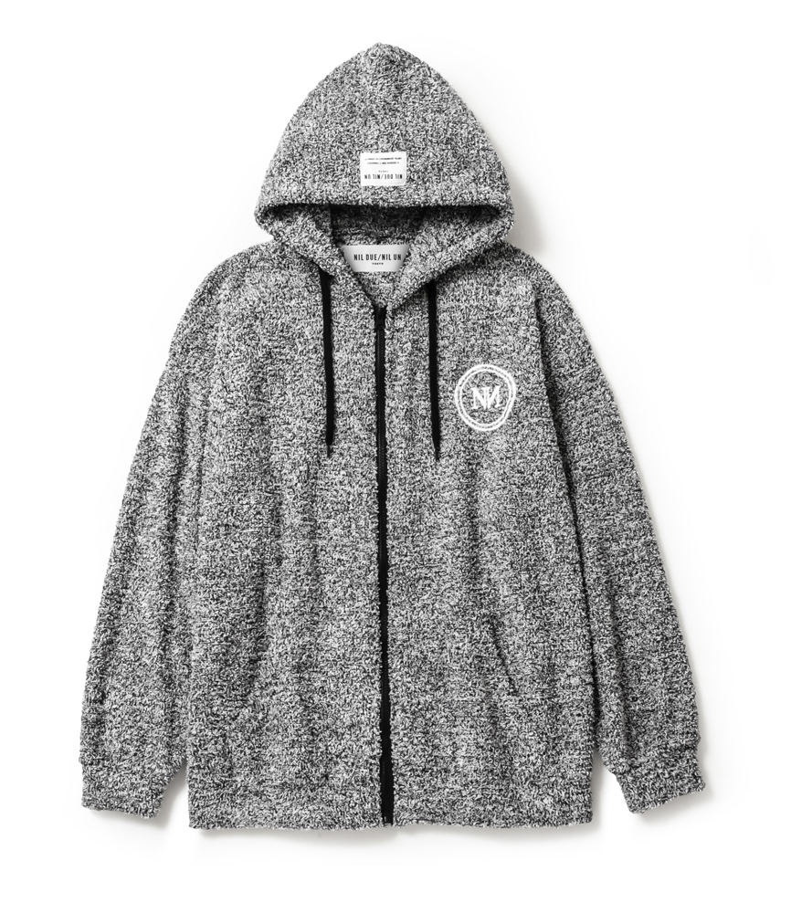 WHITE NOISE ZIP HOOD SET UP / MIX