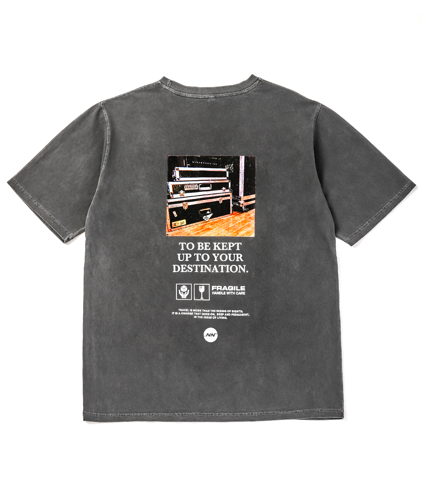 TOUR RACK TEE / USED GRAY