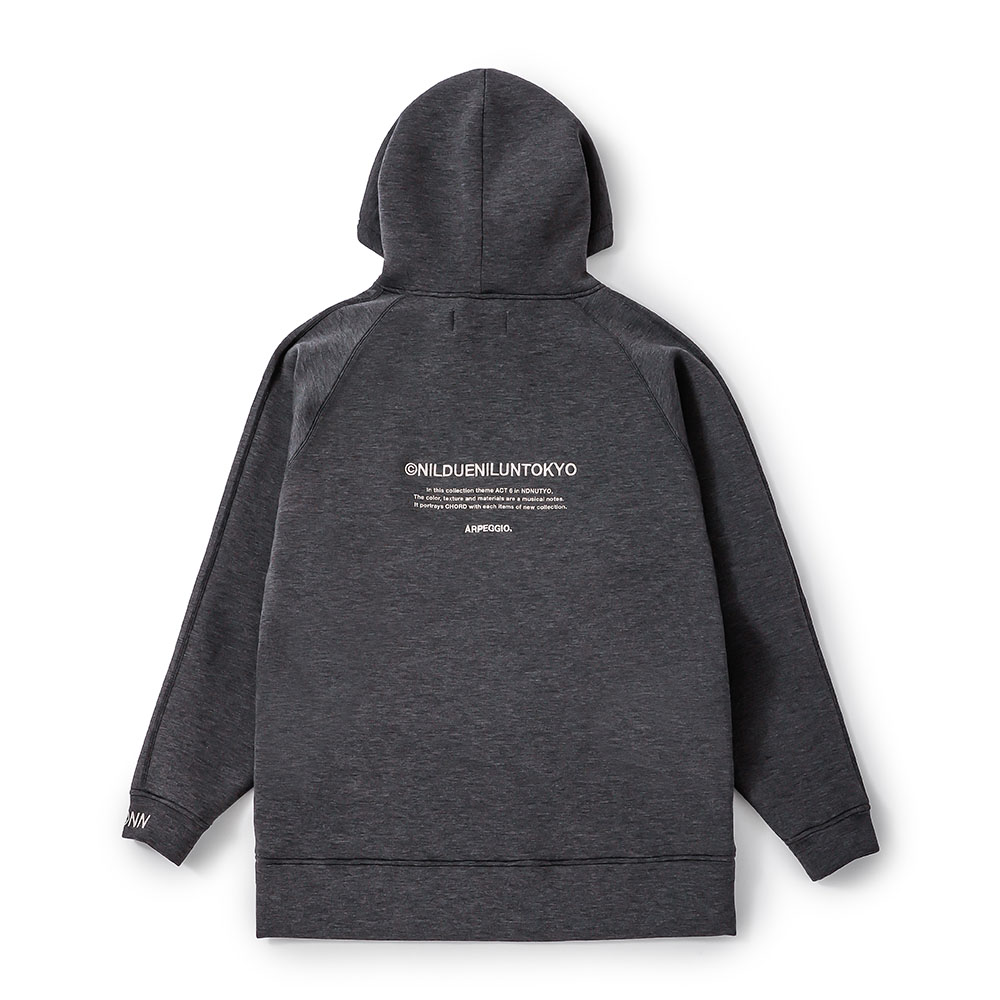EMBROIDERY LOGO HOODIE