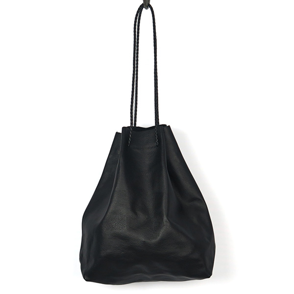 Soft Leather Purse/BLACK