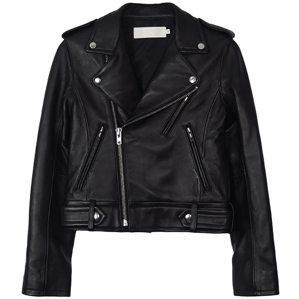 Leather Riders Jacket/BLACK