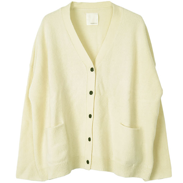 Wool Knit Cardigan/OFFWHITE