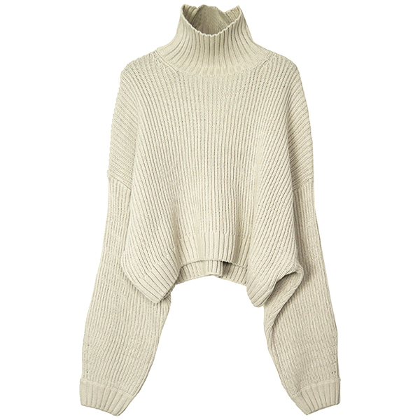 Bulky Over Knit/ECRU