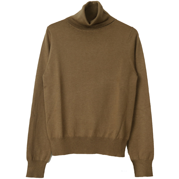Soft Turtle Knit/BEIGE