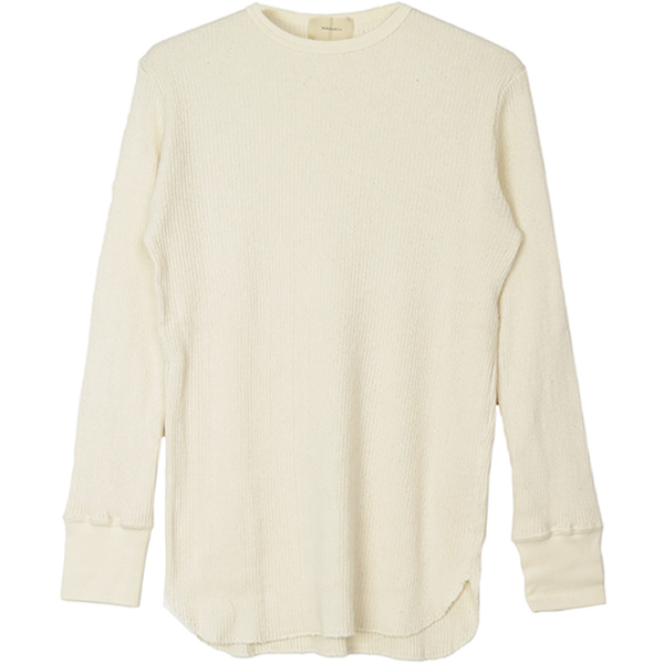 Boyfriend Soft Thermal/OFF WHITE