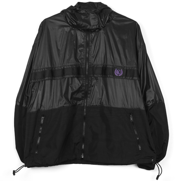 NYLON PARKA/BLACK
