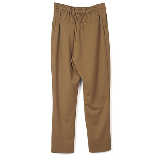 J/W BASIC TUCK PANTS/CAMEL