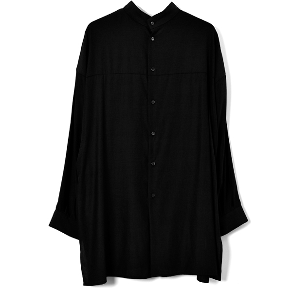 W FACE BLOUSE/BLACK