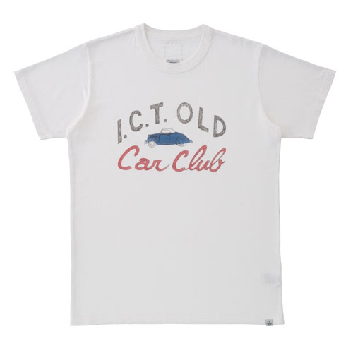 【ポイント10倍】SKETCH VTG CREW S/S (CAR CLUB)