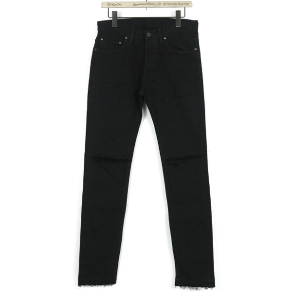 [wjk×R&Co.]別注 damage skinny denim