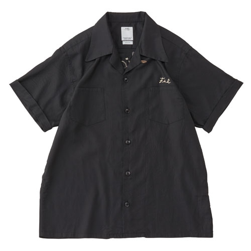 【ポイント10倍】IRVING SHIRT S/S (RAYON/COTTON)