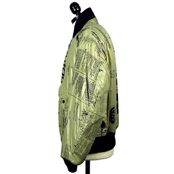 REVERSIBLE FLIGHT JACKET-BE PRINT-