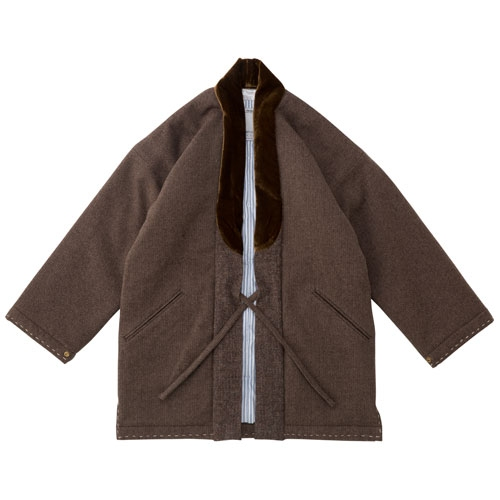 DOTERA COAT HERRINGBONE