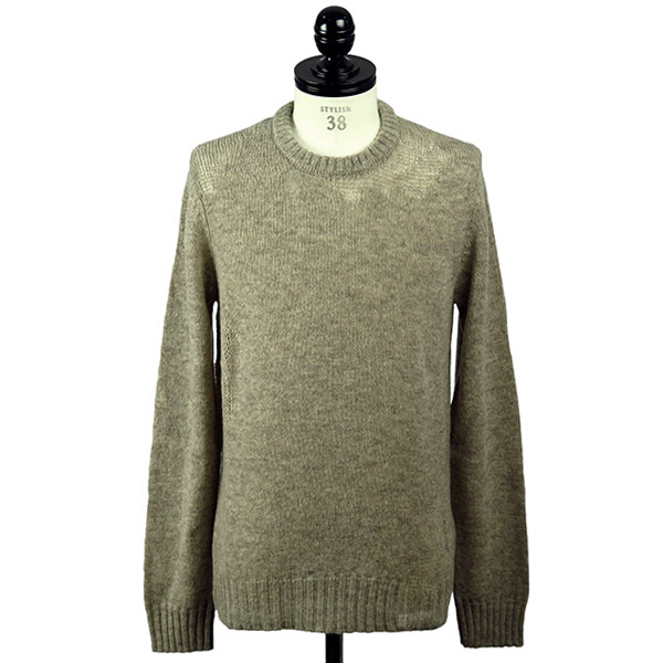 WOOL DESTROYED KNIT SWEATER