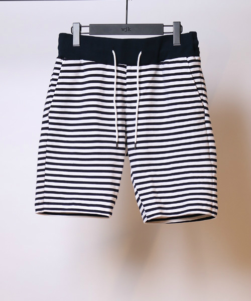 uneven border shorts ショーツ