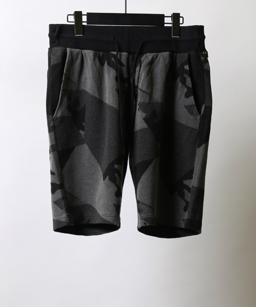 jacquard patchwork shorts ショーツ