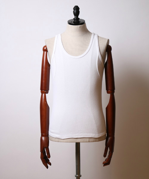 irregular seam tank top タンクトップ