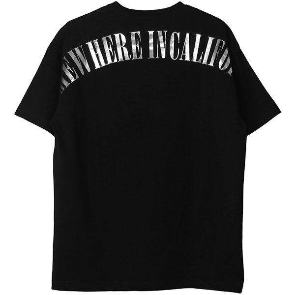 SOMEWHERE TEE/BLACK