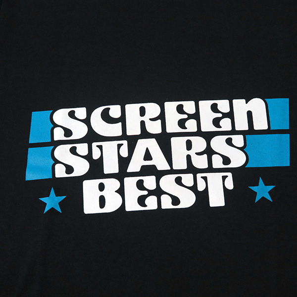 [N.HOOLYWOOD×SCREEN STARS]PRINT T-SHIRTS/BLACK