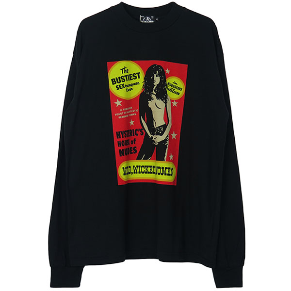 BUSTIEST pt L/S T-SH/BLACK