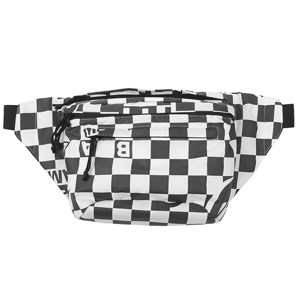 FLIGHT NYLON WAIST BAG/WHITECHECK