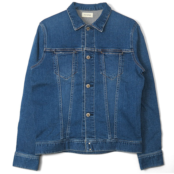 E REGULAR DENIM BLOUSON/INDIGO