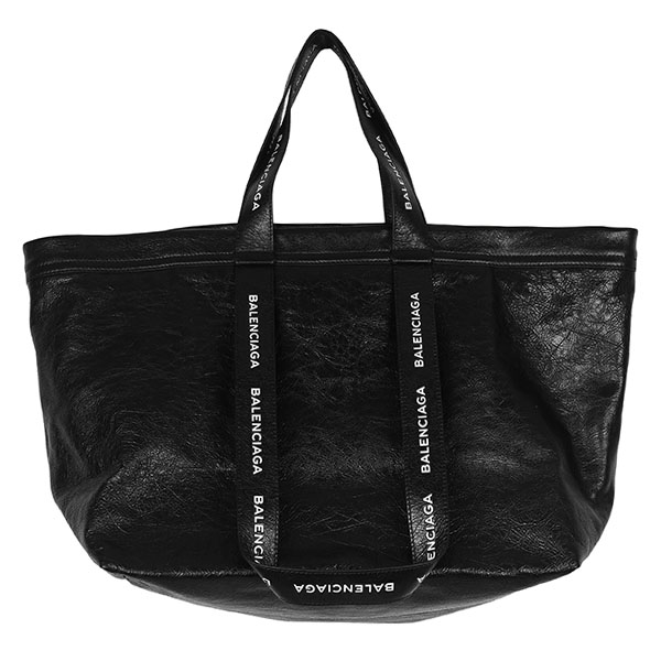 CARRY SHOPPER S/NOIR/BLANC