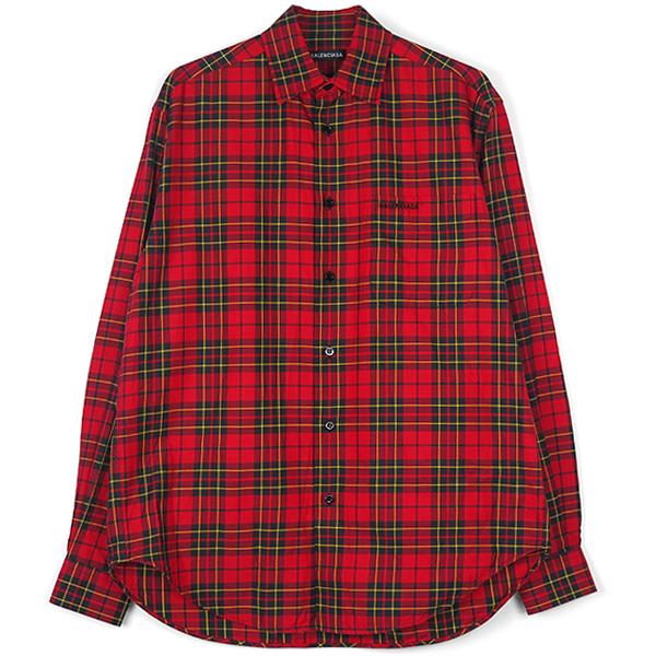 CHECK SHIRT/RED