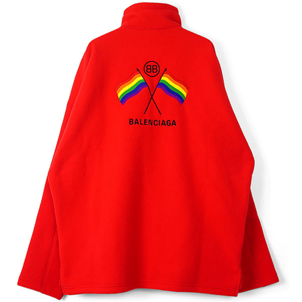 RAIMBOW FLAGS SWEATER/CARMINE